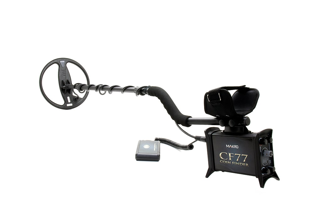 CF77 Coin Finder Metal Detector
