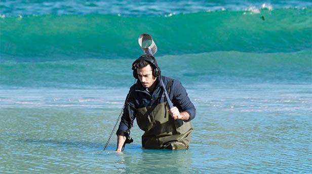 Kruzer auf See