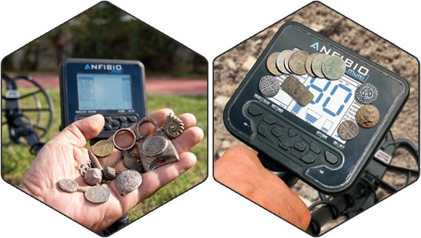 If metal detecting is your passion, the way to go is the Anfibio!