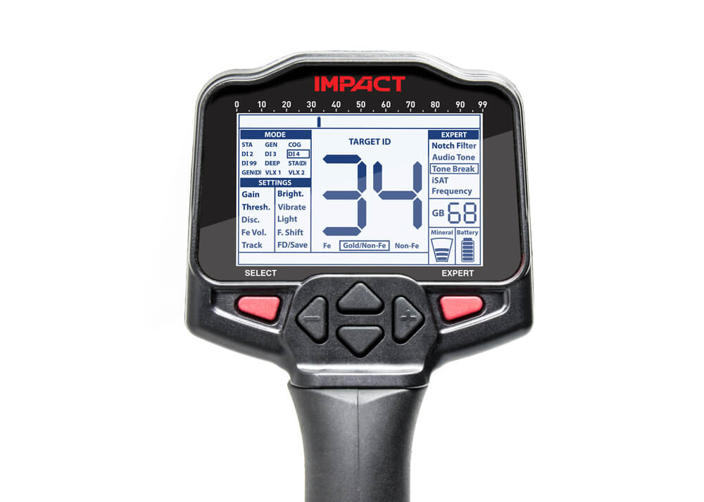Impact Metal Detector