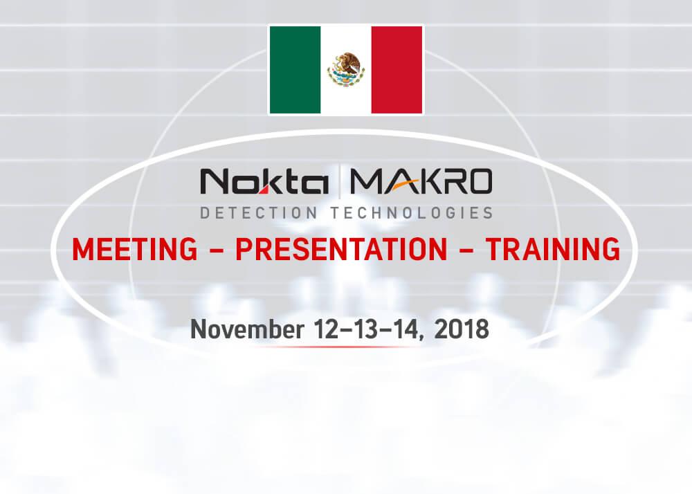 NOKTA & MAKRO Detectors Meeting - Presentation - Training