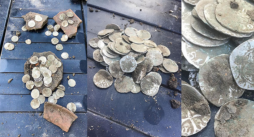 Nice little hoard found with the Gold Kruzer