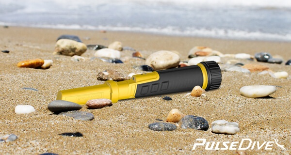 PulseDive Pointer en The Beach