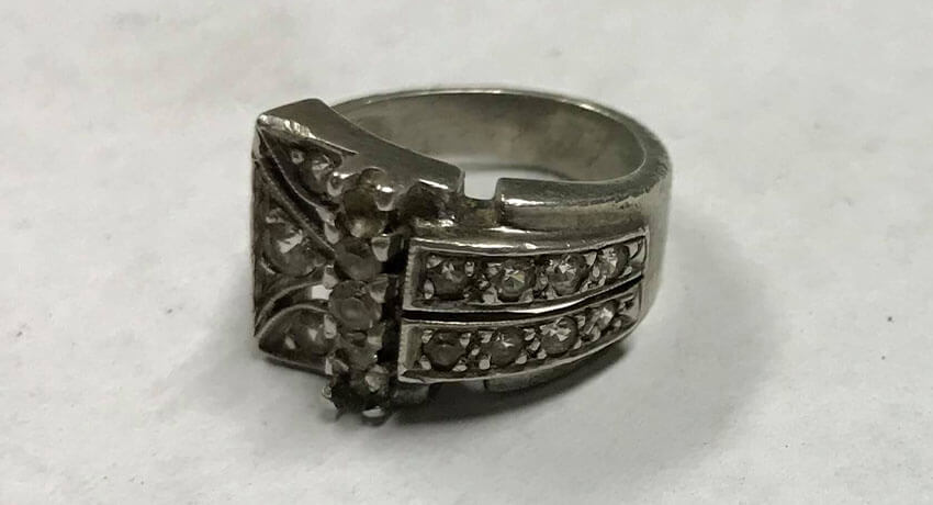 Woohoo! Silver ring!