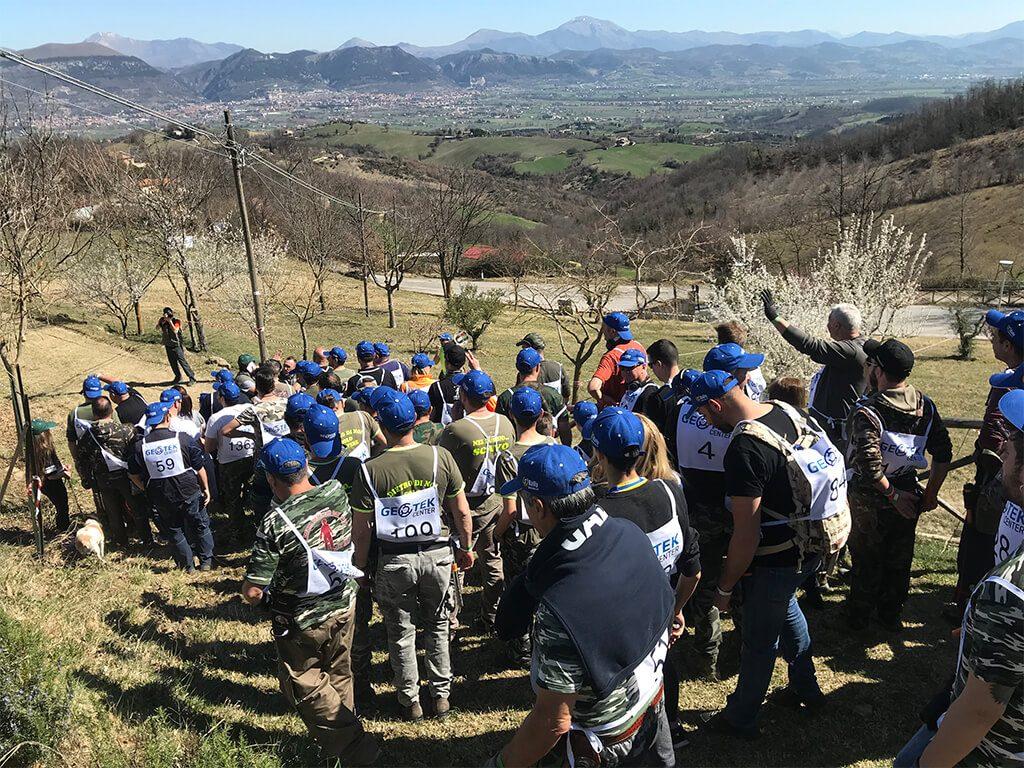 Geotek Rally Italy 2019