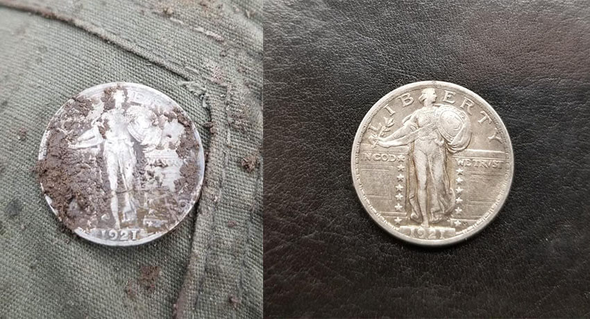 This particular coin is worth about $900