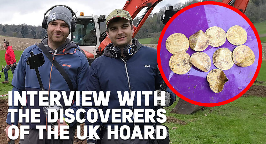 Interview with the discoverers of the U.K Hoard