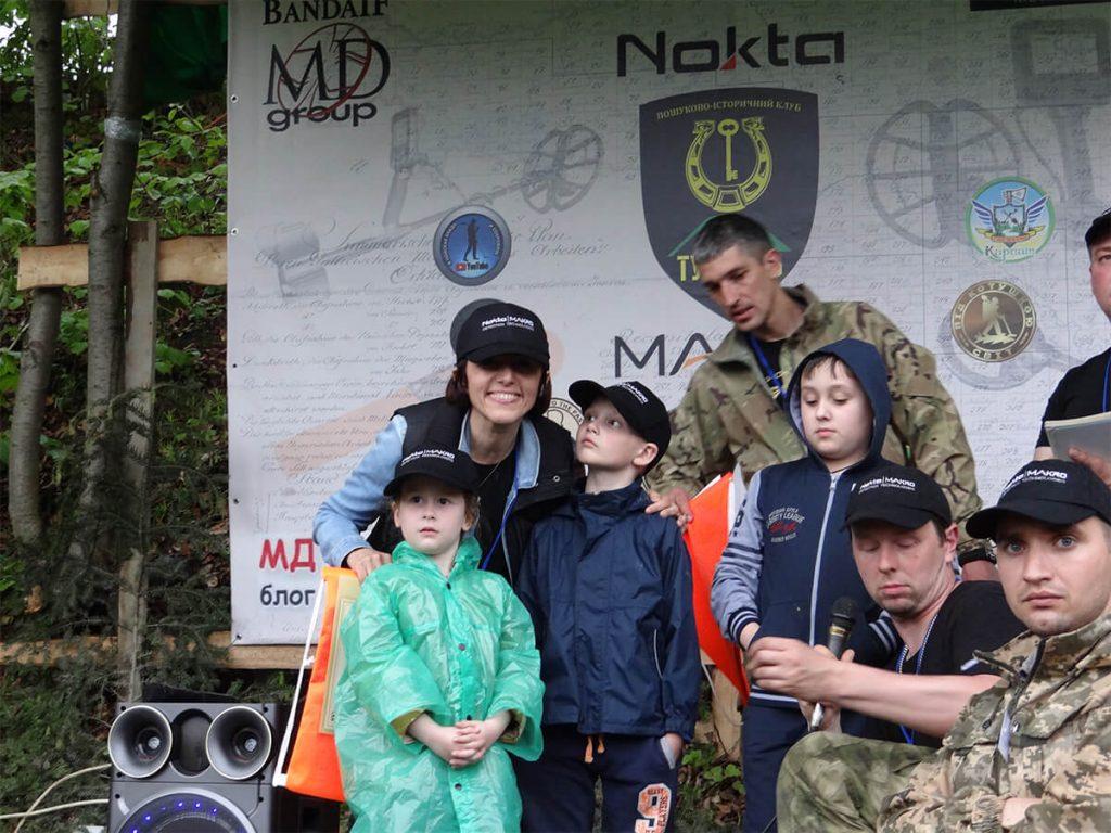 Rallye des détecteurs d'Ukraine