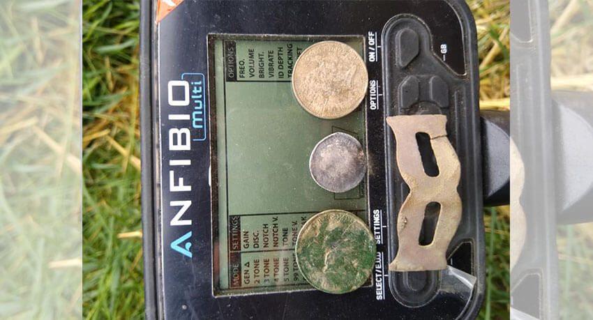 Silber Nr. 2 für Anfibio Multi-Metalldetektor - Abdeckung