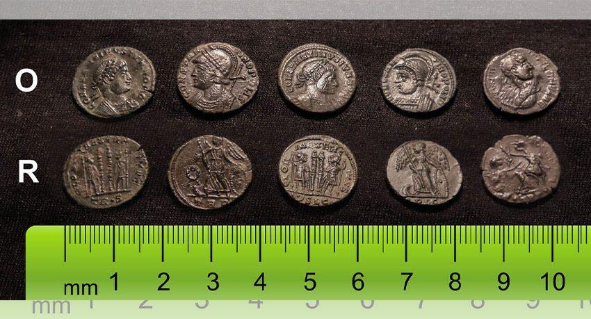 Een paar Romeinse bronzen die ik heb gevonden