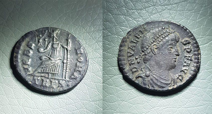 Encontré este denario de plata el fin de semana - Portada