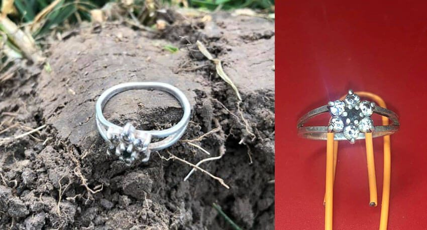 925 Ring With Small Stones - Cover
