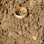 Primeiro anel de OURO encontrado a cerca de 9 polegadas