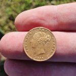 My 1st gold coin today on the Anfibio