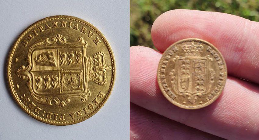 Meine erste Goldmünze heute auf The Anfibio