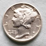 Trouvé un tout premier Mercury Dime 1940