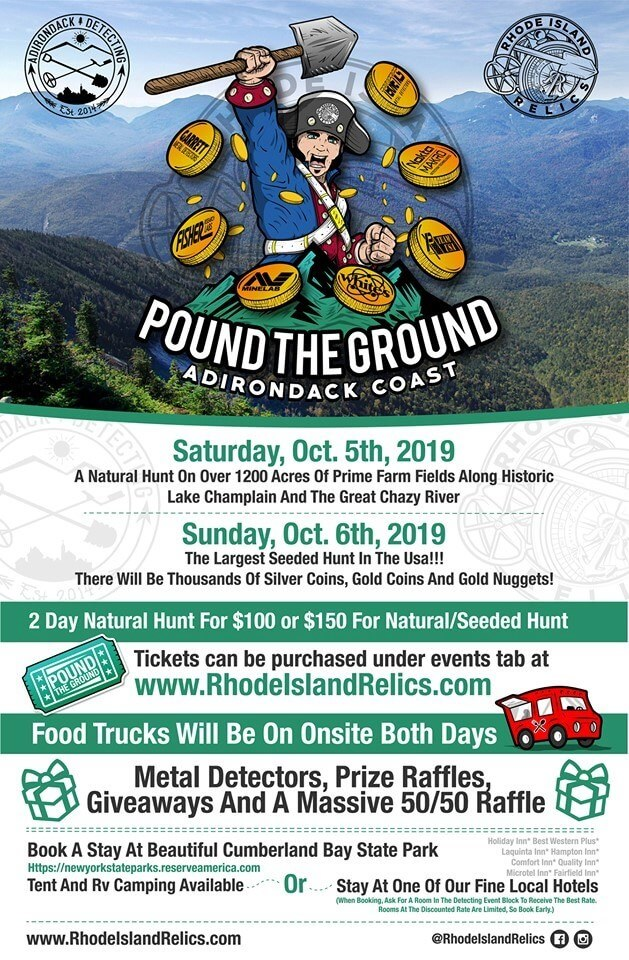 Pound The Ground Metal Detectors Rally Info