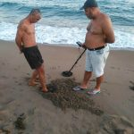 Plage d'Antalya depuis la Turquie