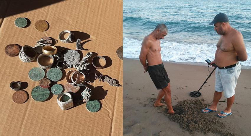 Пляж Анталии из Турции