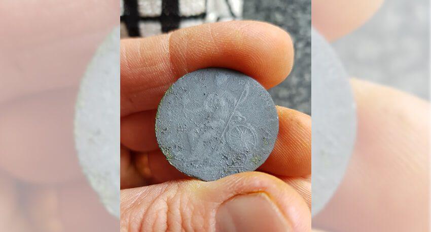 King George III half penny