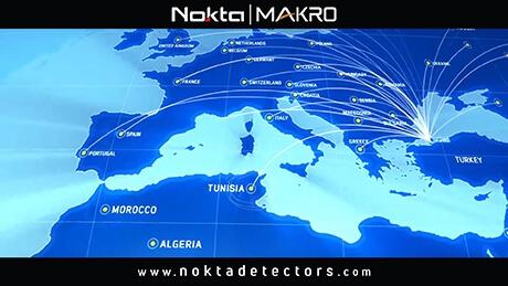 Scènes de Nokta Makro Usine de détecteurs