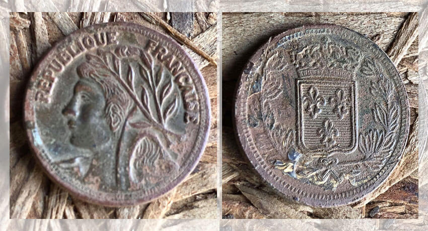 French coin or French token?