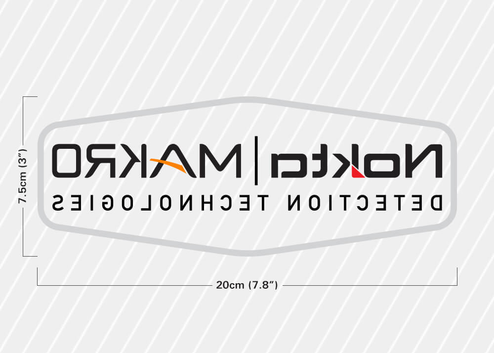Nokta Makro Car Window Sticker