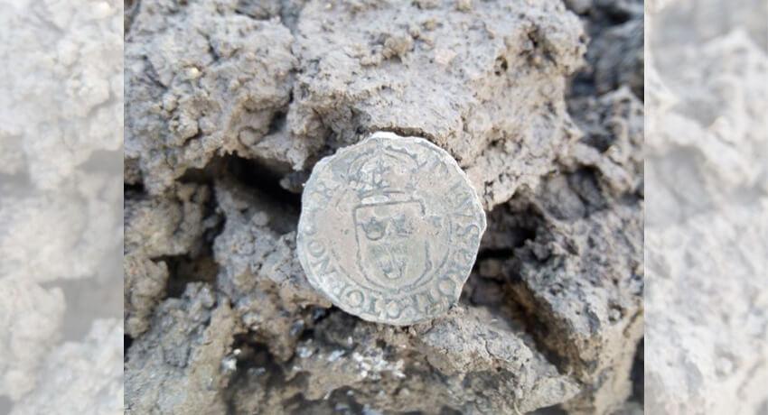 Monete del 1573 Re Giovanni III di Svezia