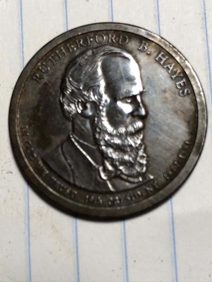 Ik heb wat lekkers gevonden van twee presidentiële dollars