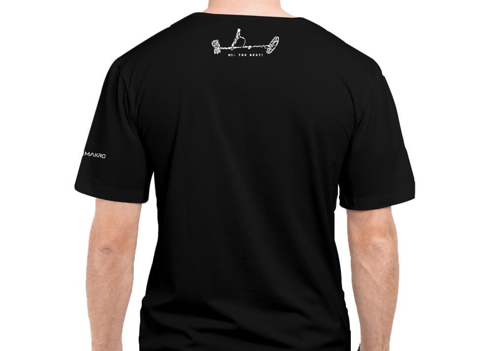 Simplex+ Tshirt (Black) Back