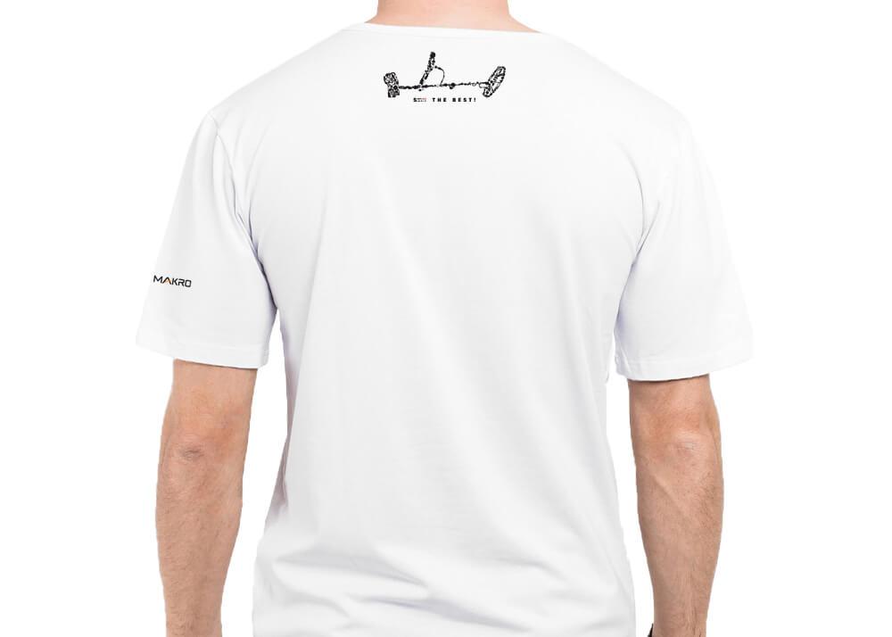 Simplex+ Tshirt (White) Back