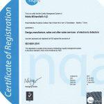 Nokta Engineering nqa ISO 9001 Certificate