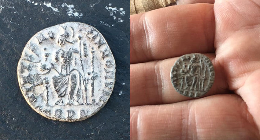 First Roman silver with the Simplex