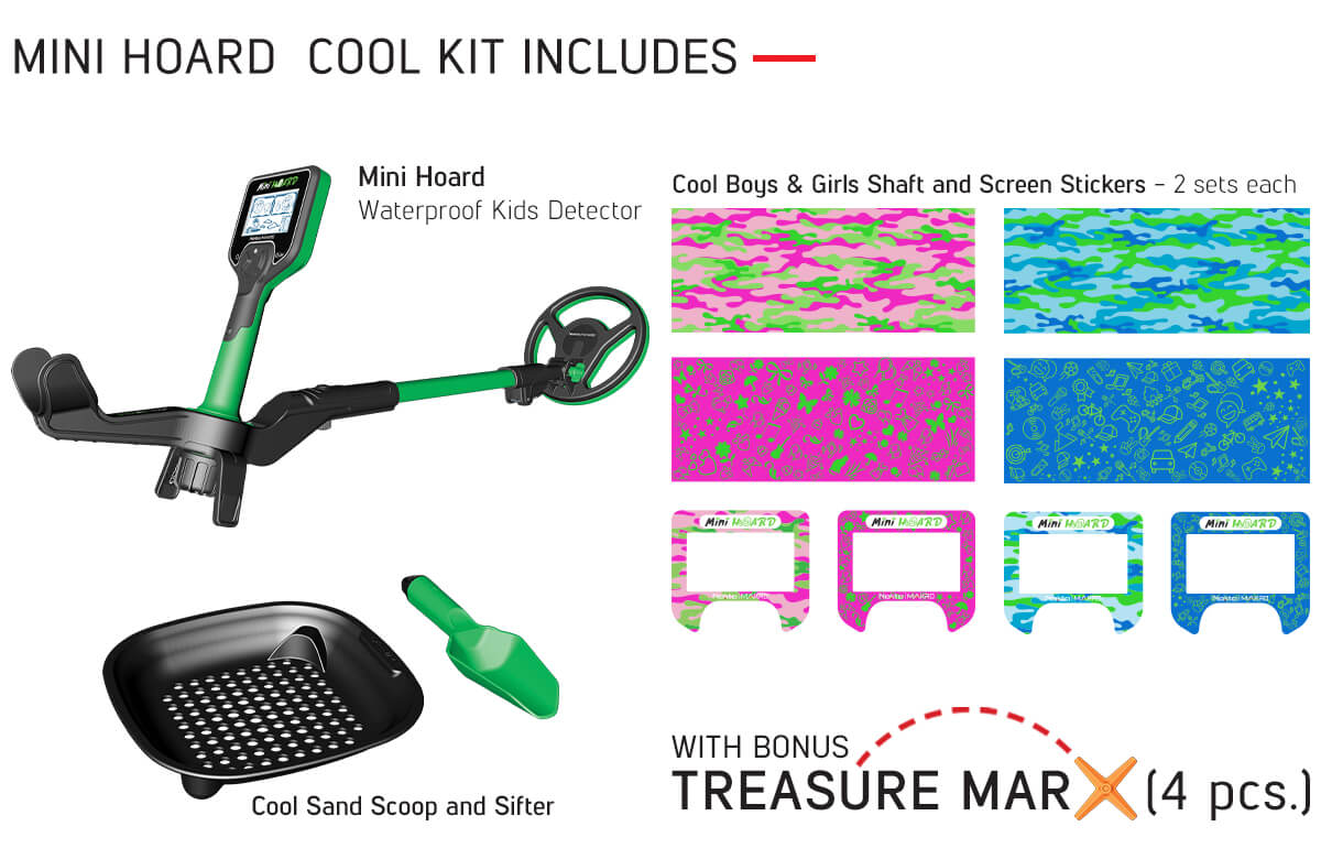 Mini Hoard Cool Kit Includes