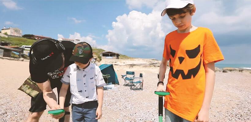 Najfajniejszy sposób na wprowadzenie dzieci w wykrywanie metali