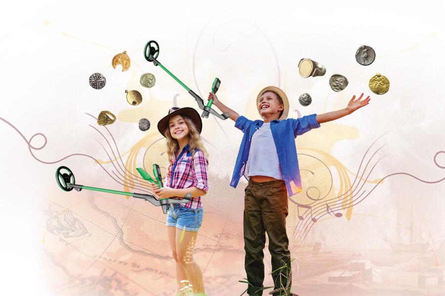 Nokta Makro Midi Hoard Baner wykrywacza dla dzieci