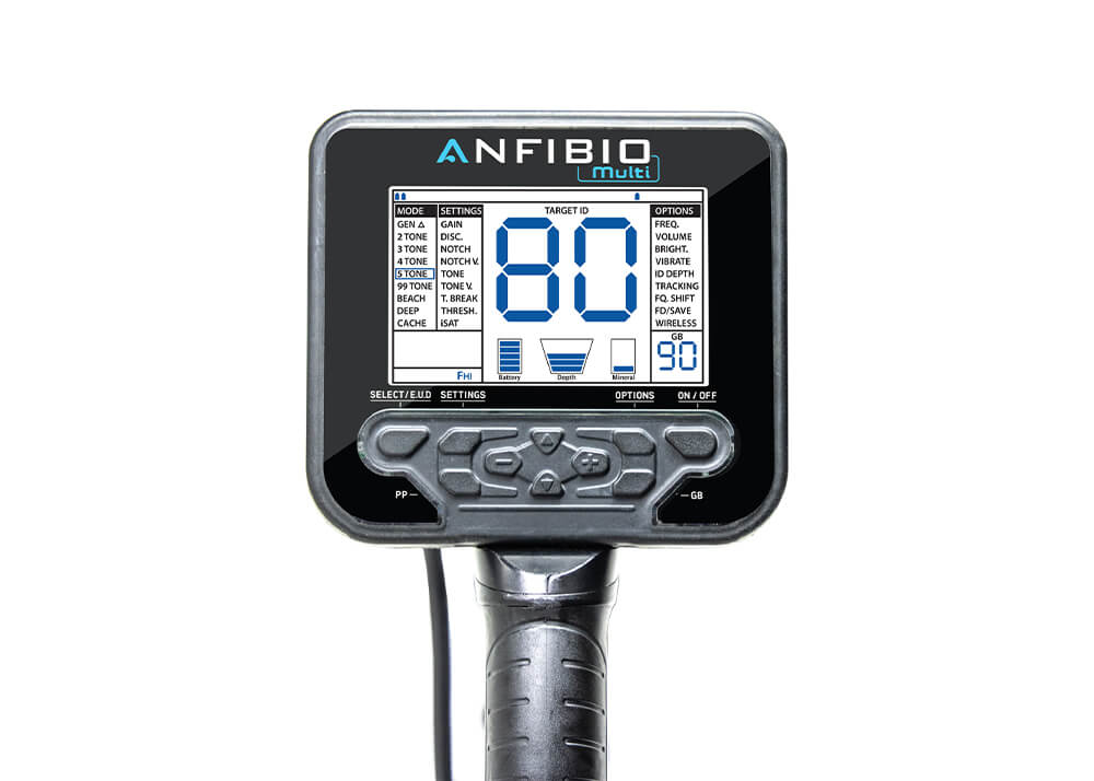 Nokta Makro Anfibio Detector de metales múltiples 4