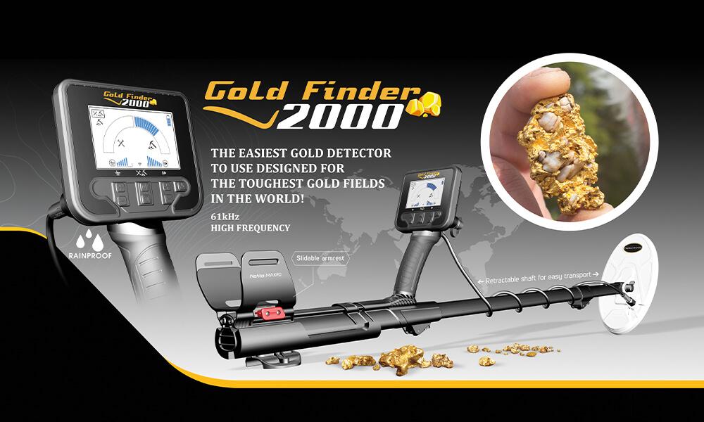 Banner Gold Finder 2000