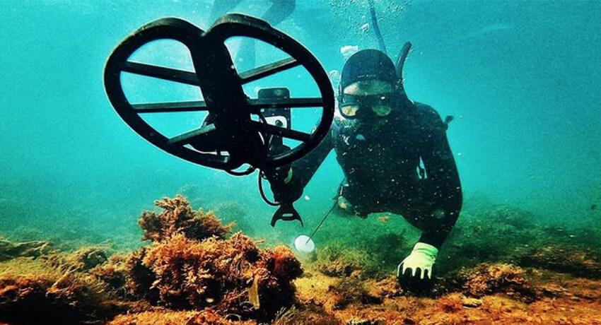 Haben Sie es mit der Unterwasser-Metalldetektion versucht?