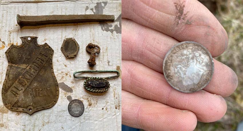 تم العثور على 1899 Newfoundland 20 Cents - Cover