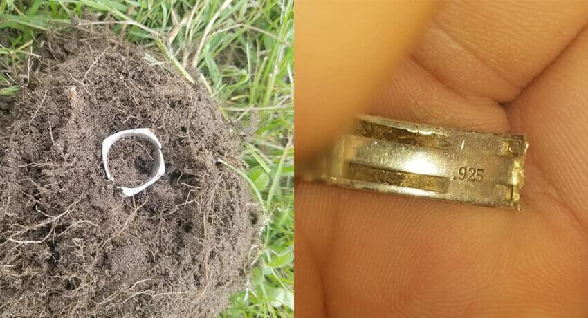 لقد وجدت أخيرًا خاتمًا من الفضة عيار 925 - غطاء