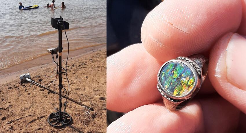 Simplex يكتشف هذا الغطاء من أصل 5 أقدام من الماء
