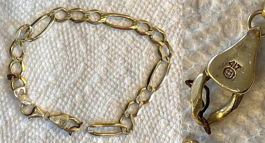 Bracelet Italie Or 10k Avec Mon Simplex+ - Couverture