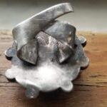 Кольцо с серебряным отсеком с фермерским полем - 2