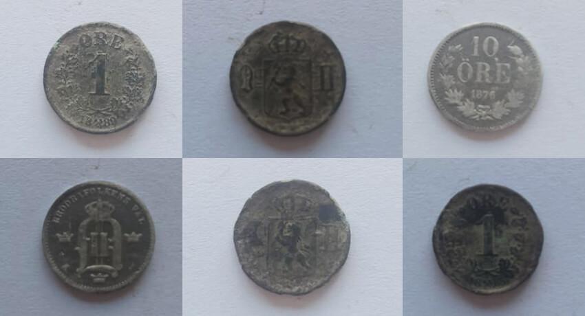 Silber, Knöpfe, Münzen und Handelsgewicht - Cover