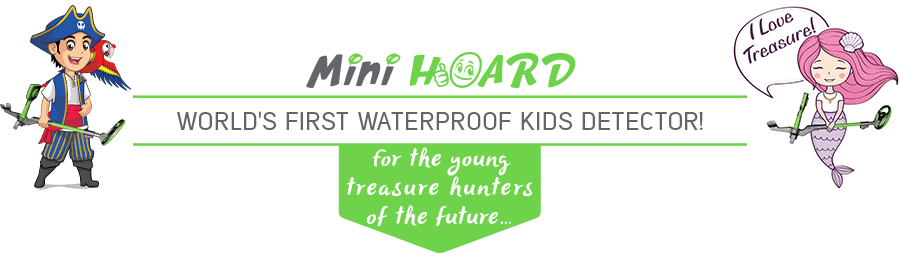 Nokta Makro Mini Hoard Child`s Metal Detector
