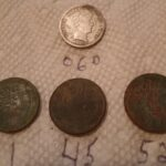 Great Hunt This Morning A Barber Dime - 1