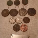 Great Hunt This Morning A Barber Dime - 2