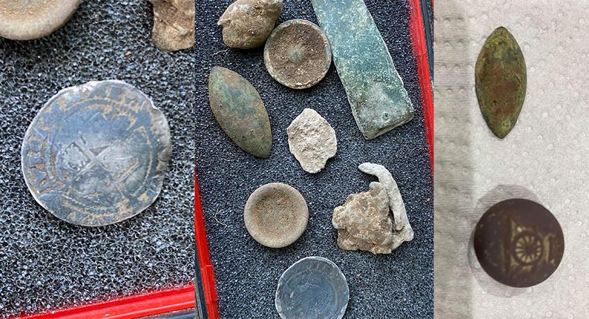 Enkele van mijn vondsten van vandaag